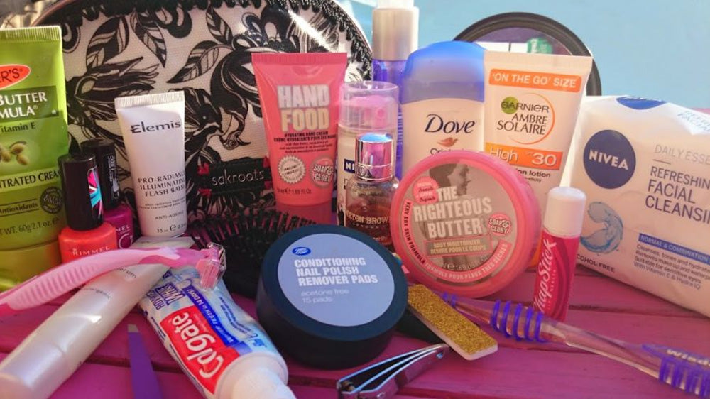 toiletries to bring to a camping festival