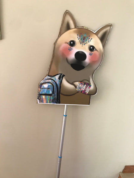 Animal Rave Totem - dog