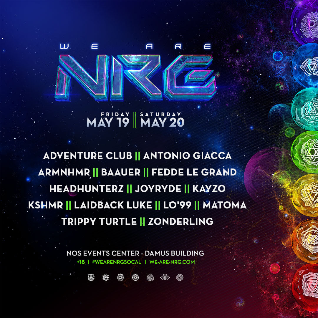 we are NRG lineup
