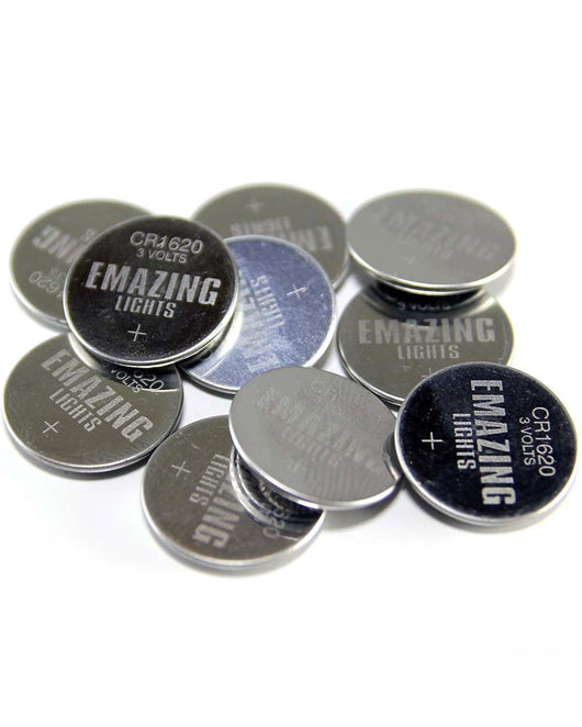 CR1620 Button Cell Batteries-20 Pack
