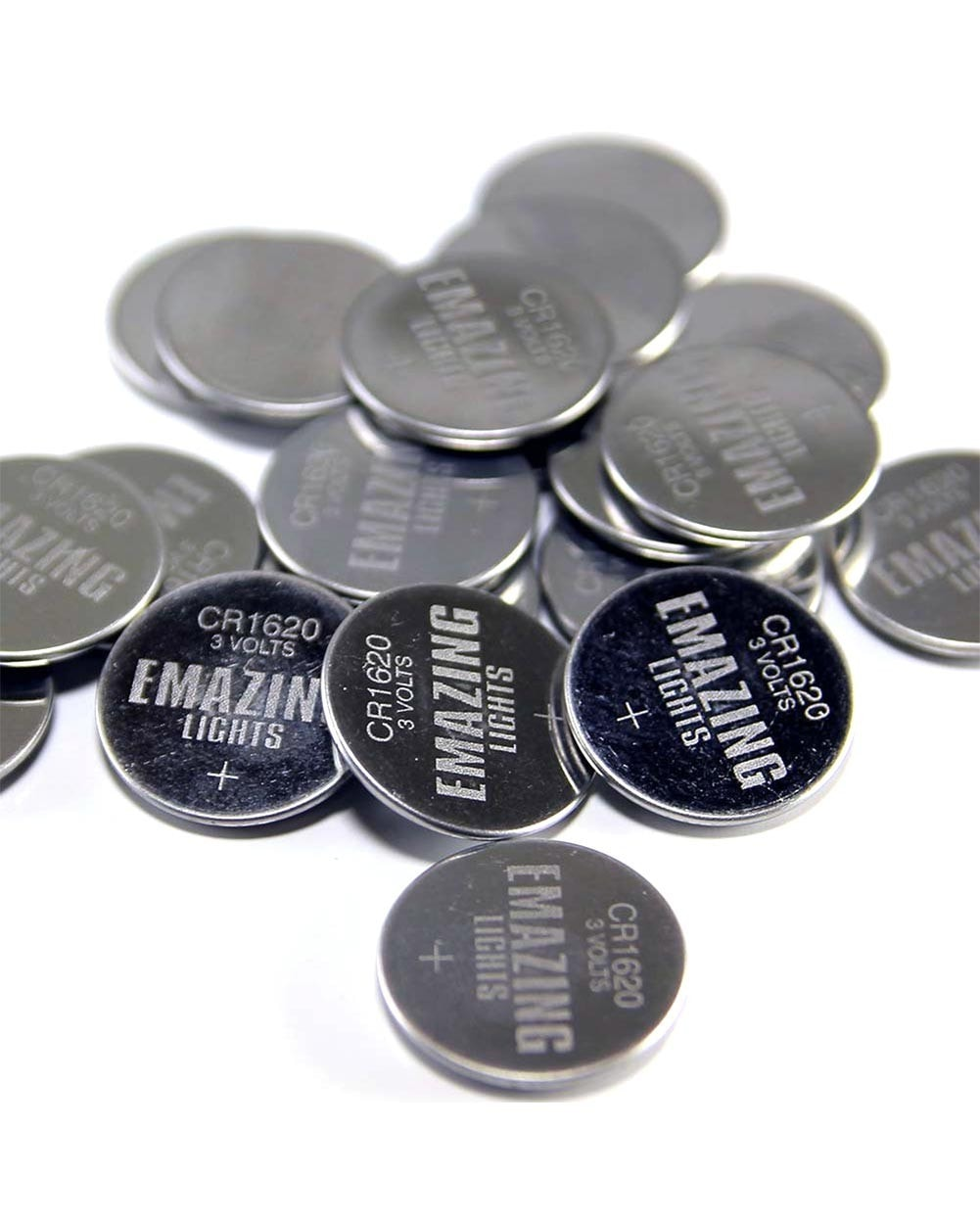 CR1620 Button Cell Batteries-60 Pack
