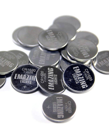 CR1620 Button Cell Batteries - 50
