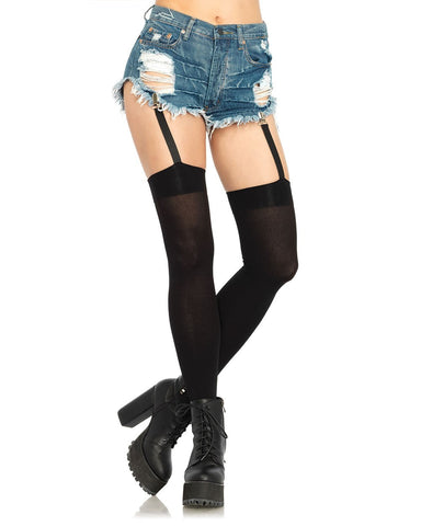 Garter Thigh Highs