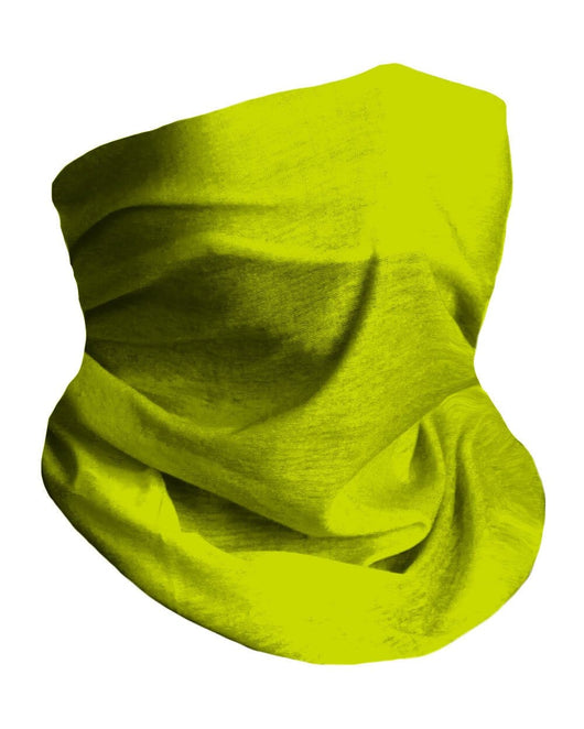 Yellow Seamless Mask Bandana