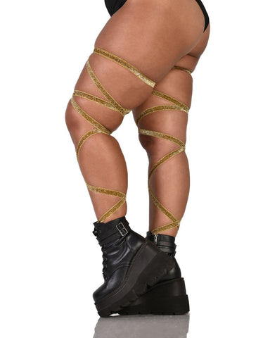 Accessories Gold Leg Wrap-Side-Curve1