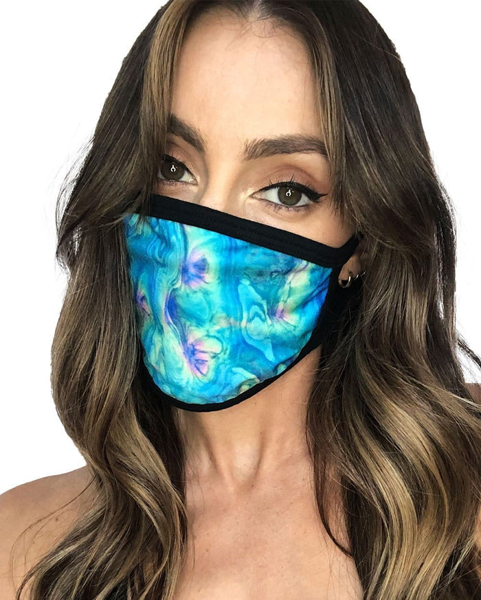 Acid Lagoon Face Mask-Female-front