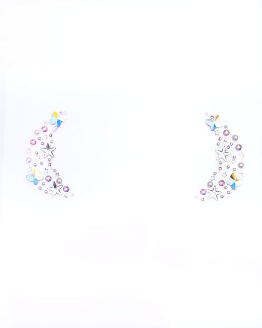 Lunautics X iHR Star & Butterfly Face Jewels