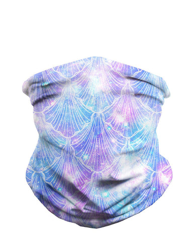 Celestial Sea Shells Seamless Mask Bandana