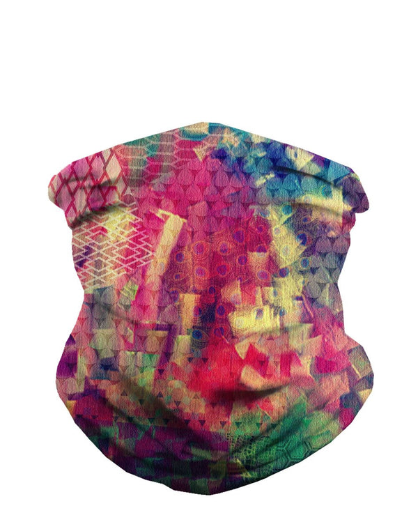 Chaotic Creation Seamless Mask Bandana-Front