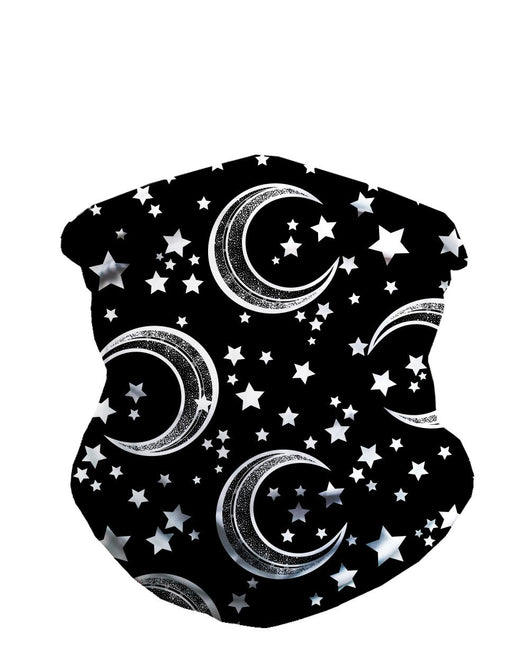 Comic Skies Seamless Mask Bandana-Front