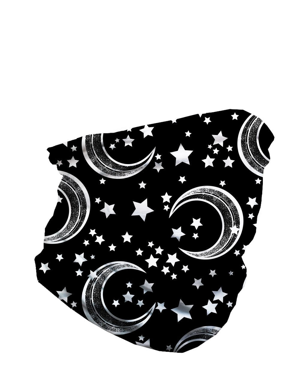 Comic Skies Seamless Mask Bandana-Side