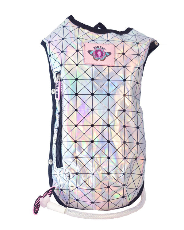 Dan-Pak Holo Disco Hydration Pack-Front