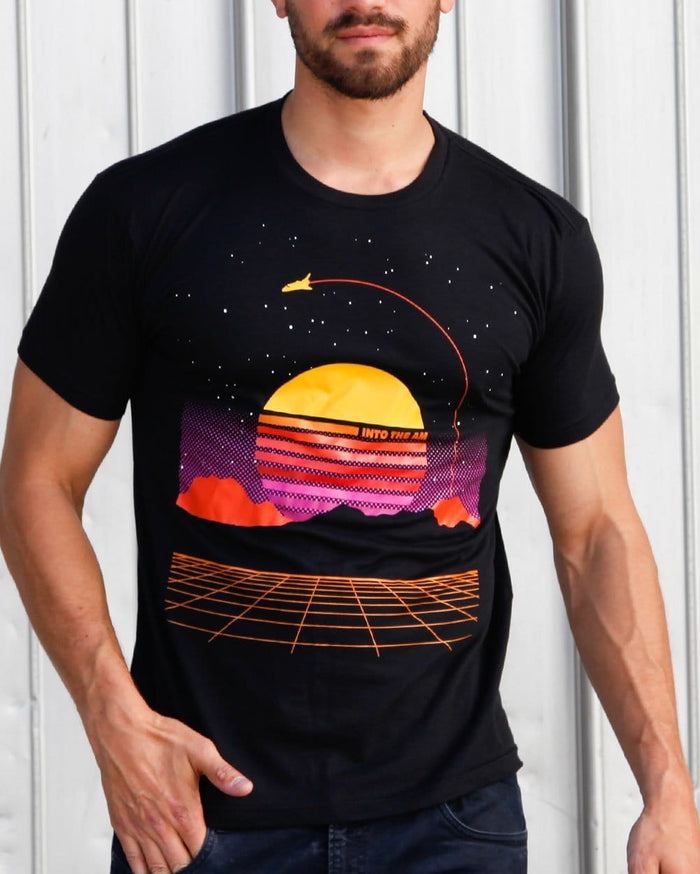 Digital Space Men's Tee-Lifestyle--Nick---L