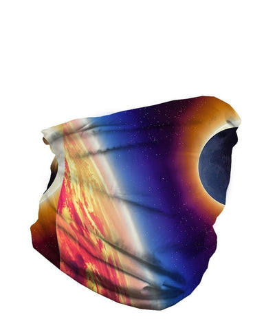 Eclipse Seamless Mask Bandana Galaxy Tube Bandana-Multicolored-Side