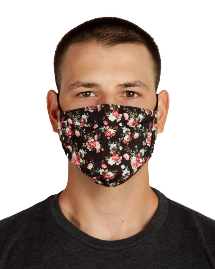 Bloom Face Mask-Front