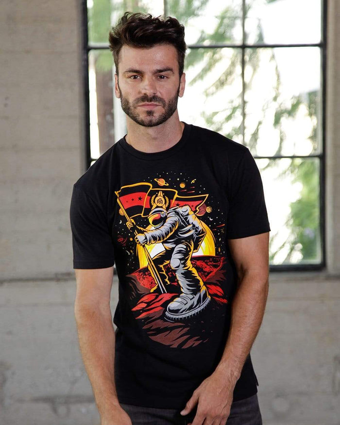 First Contact Men's Tee-Lifestyle--Ajdin---L