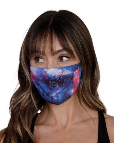 Galaxy Face Mask-Front