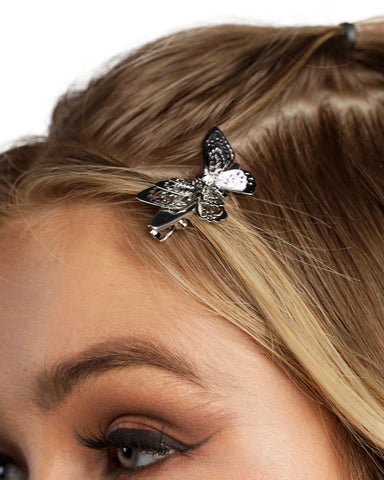 Butterfly Lover Hair Clips