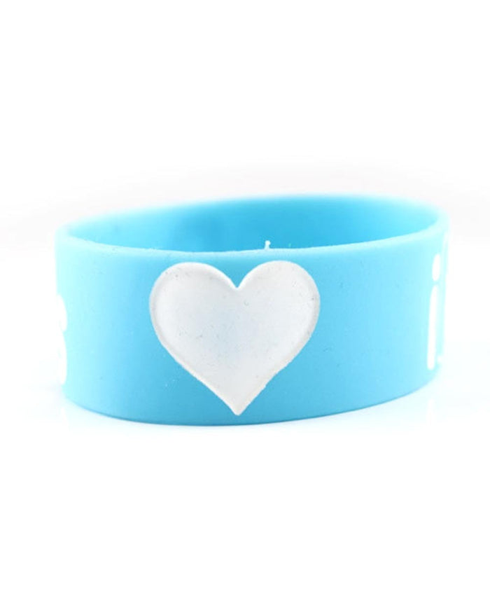 iHeartRaves Wristband-Blue