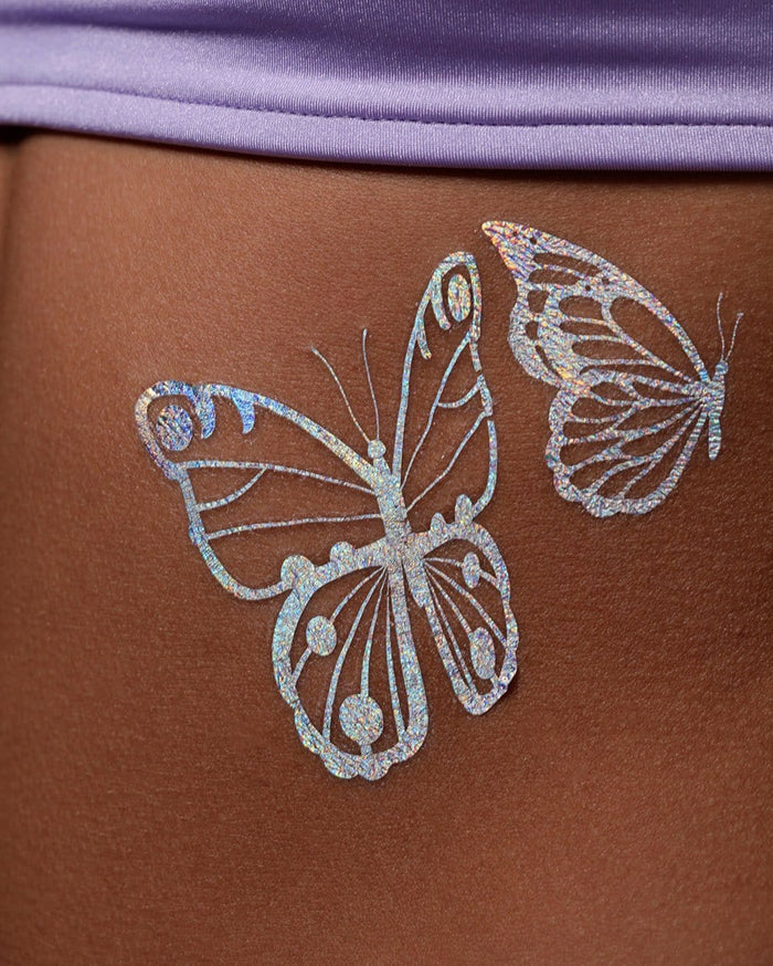 Lunautics Pretty Fly Butterfly Tempo Tats-Detail