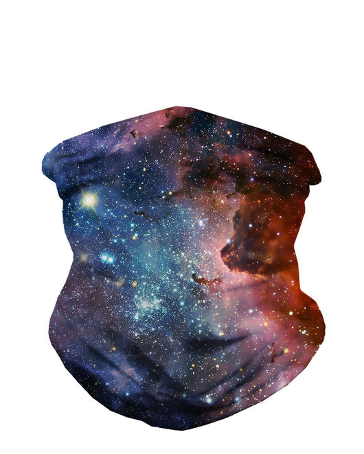 Milky Way Seamless Mask Bandana-Front