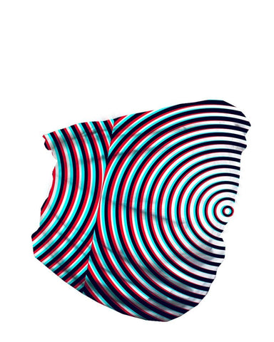 Optical Illusion Seamless Mask Bandana-side