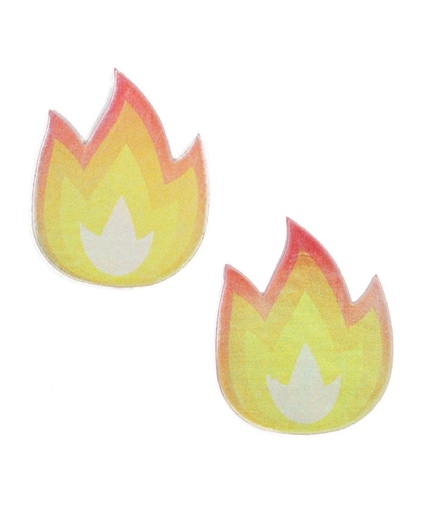 Pastease X iHR Holo Flame Pasties