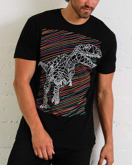 Rawr Glow in the Dark Men's Tee-Lifestyle--Nick---L