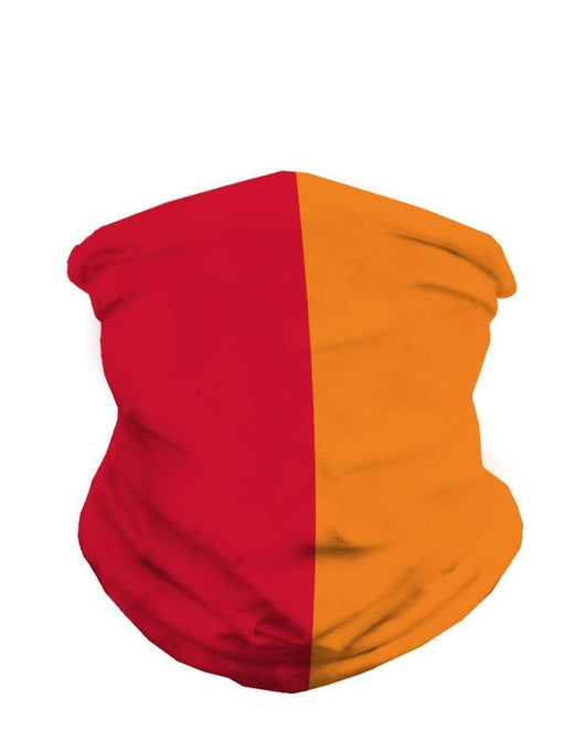 Red and Orange Mask Bandana-Front