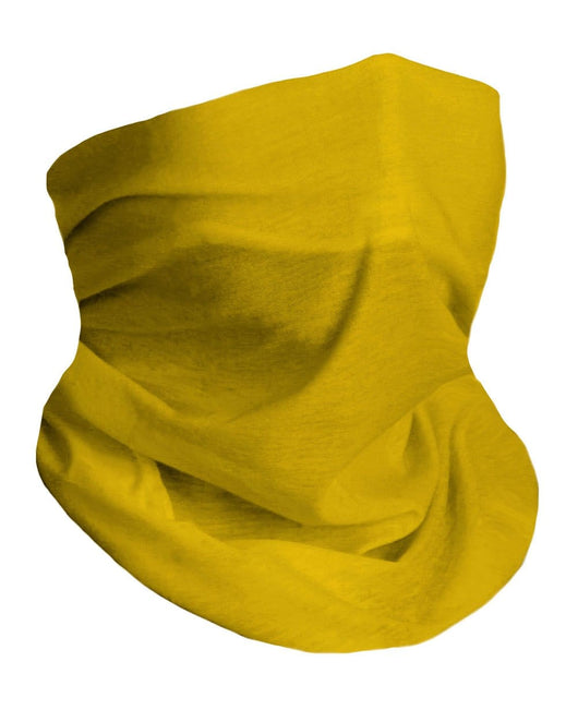 Soft Yellow Seamless Mask Bandana