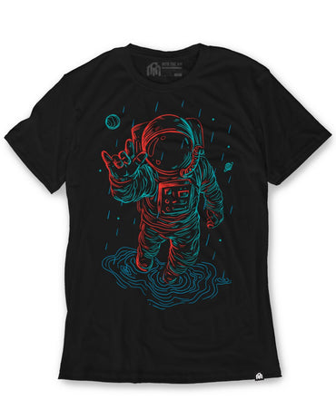 Universal Love Glow in the Dark Men's Tee-Black-Front