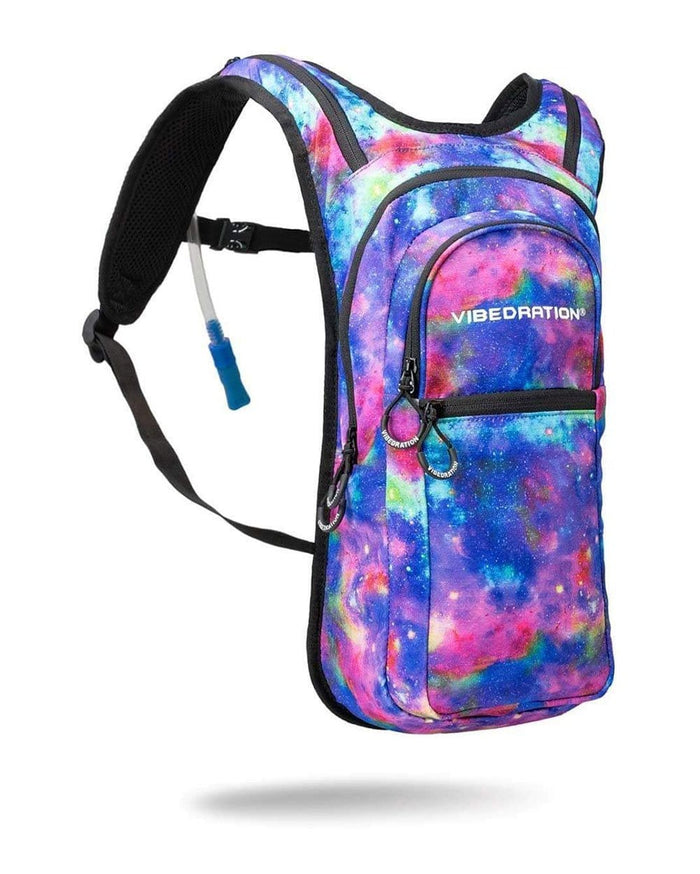 Vibedration Metallic Space Hydration Pack