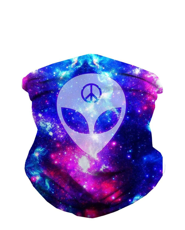 We Rave in Peace Seamless Bandana-Front