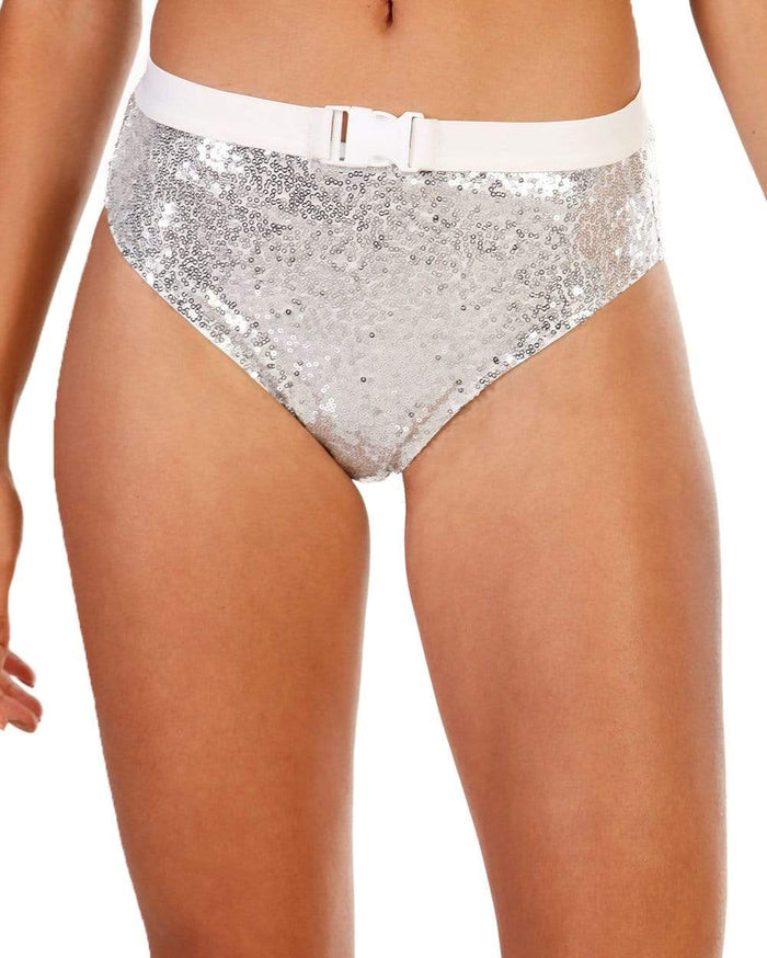 Cosmic Crystal High Waisted Bottoms-Front