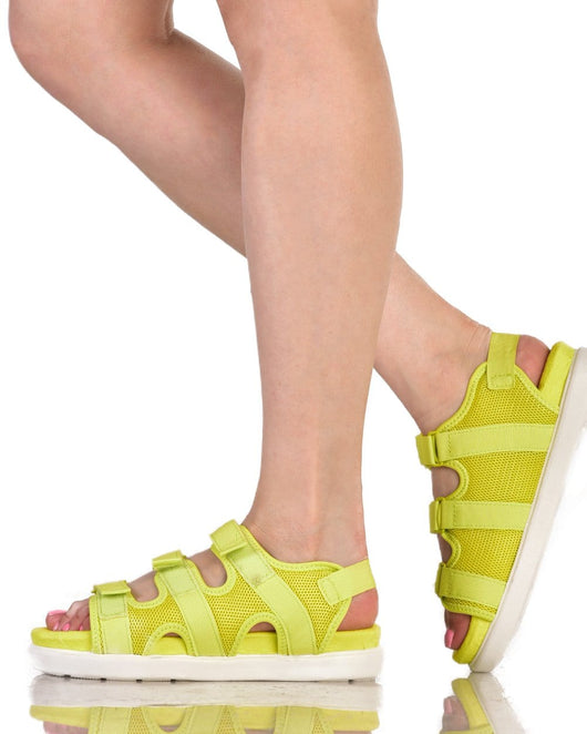 Caution Baby Sandals-Side
