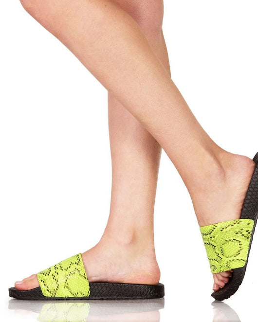 Wicked Fun Snake Sandals-Side