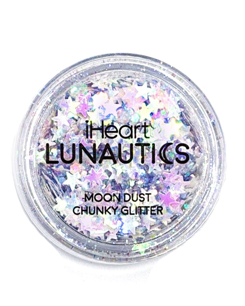 iHeart Lunautics Angel Aura Glitter-Hologram-Top