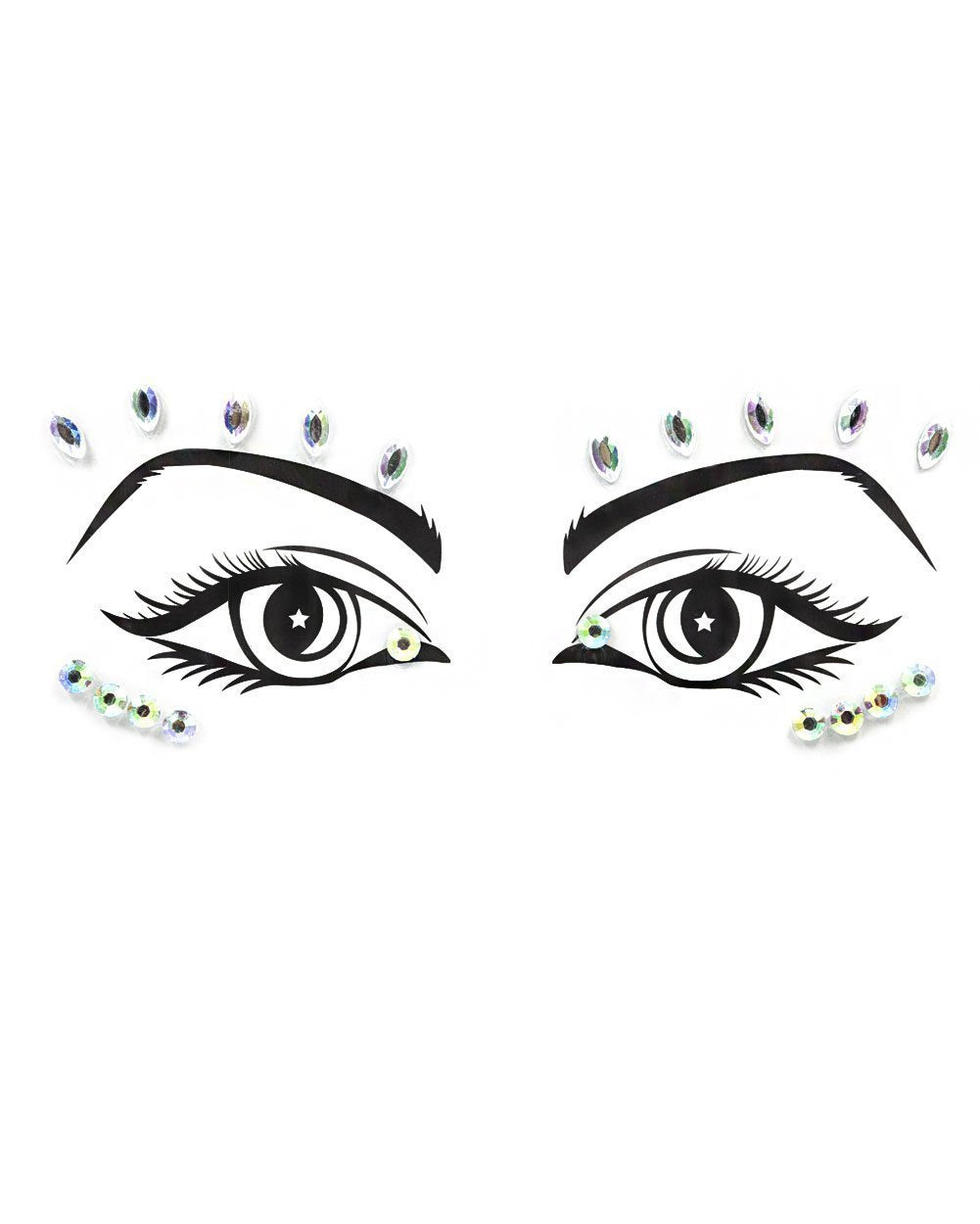 Lunautics Glam Girl Face Jewels