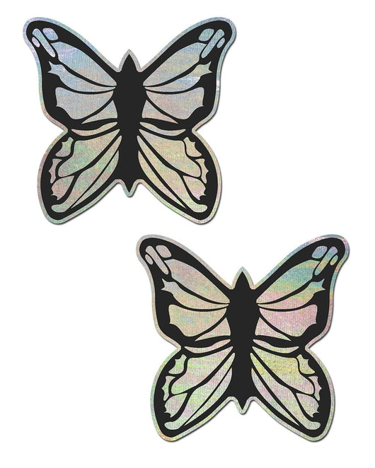 Pastease Holo Silver Butterfly