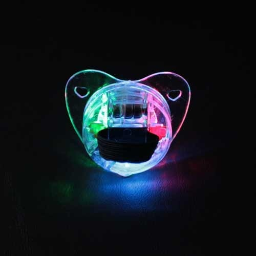 LED Pacifier-On-Back