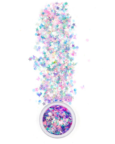 Lunautics Cosmic Galaxy Glitter