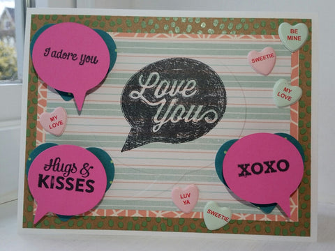 love greeting card - Something To Say