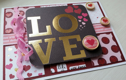 love greeting card - big love