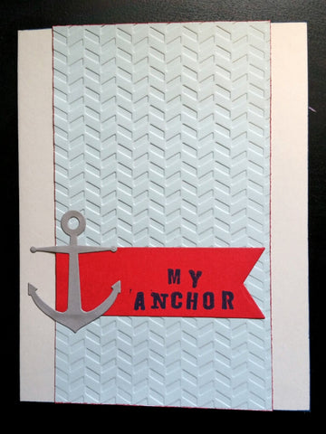 greeting card - My Anchor