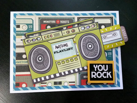 Father's Day card - you rock