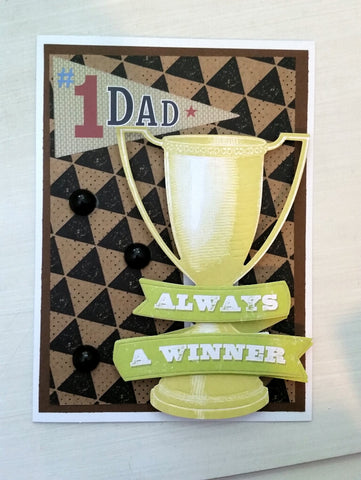 Father's Day card - winner