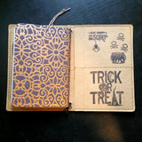 Halloween passport / Field Notes fauxdori notebook cover