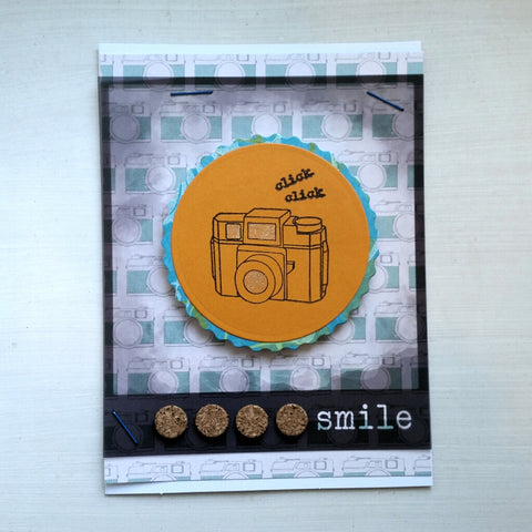 greeting card - cameras