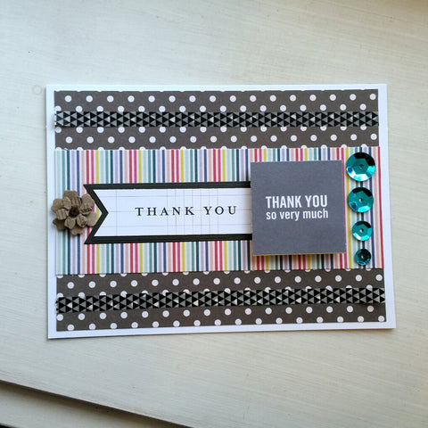 thank you card - thank you so much