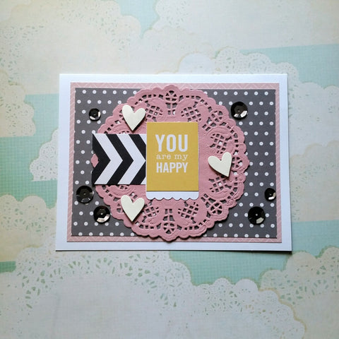 love greeting card - my happy